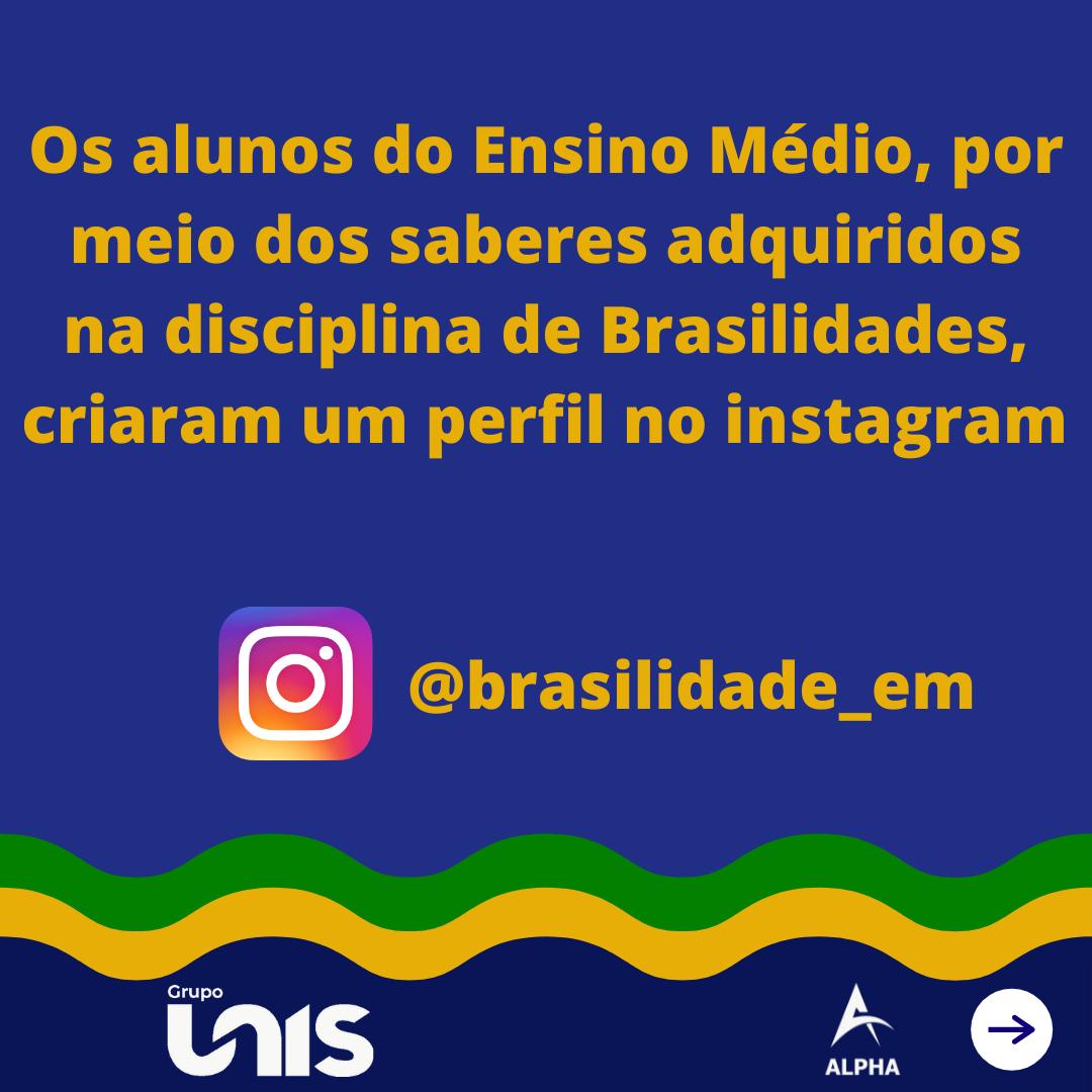 Itinerário Formativo Brasilidades